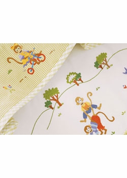 gordonsbury monkey business facecloth set