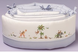 gordonsbury on safari crib bumper