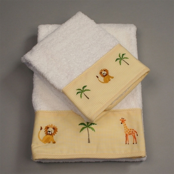 gordonsbury on safari hand towel