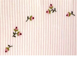 gordonsbury rosebuds embroidered crib sheet