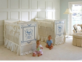 hand-painted cribs