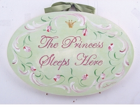 handcrafted artwork - the princess