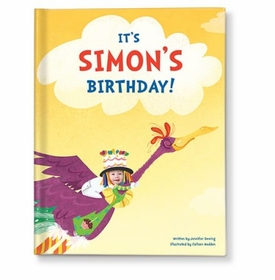 its my birthday! personalized book