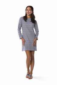 jetting to jetties long sleeve dress