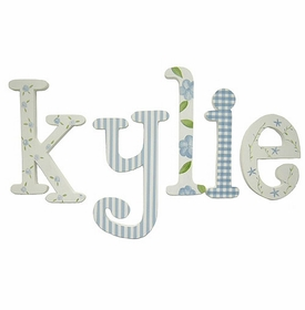 """kylie's 8"""" wooden hanging letters"""