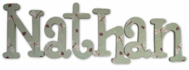 """ladybugs and dragonflies 8"""" wooden wall letters"""