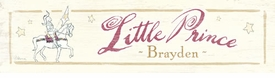 little prince vintage sign