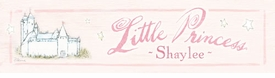 little princess vintage sign