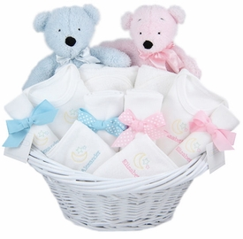 luxury twins gift basket