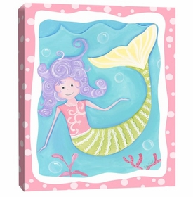 mandy the mermaid wall art