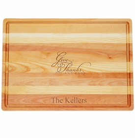 Master Collection Large Board Give Thanks And Eat Personalized