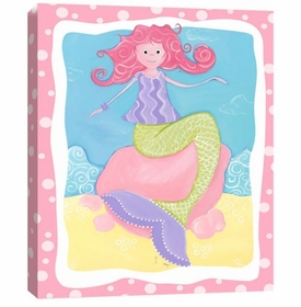 milly the mermaid wall art
