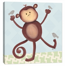monkey wall art