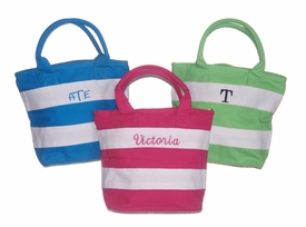 monogrammed tote for kids