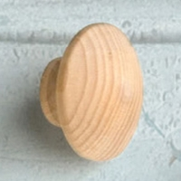 Painted Wood Knobs