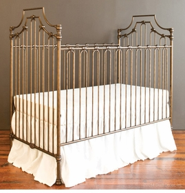 parisian 3 in 1 crib - gold