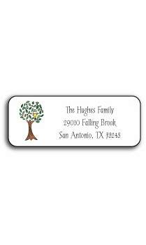personalized address labels – apple of my eye
