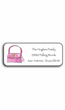 personalized address labels – handbag maven