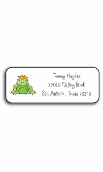 personalized address labels � price of princes