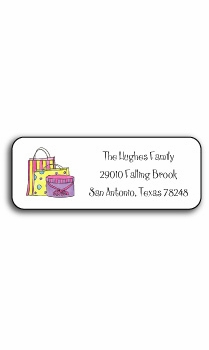 personalized address labels � shop til you drop