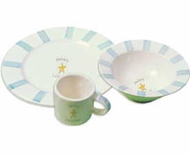 personalized baby gift plates