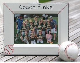 personalized baseball frame