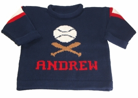 personalized baseball jersey sweater