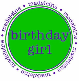 personalized birthday girl tee shirt