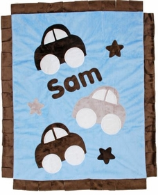 personalized Cars Cars Cars blanket