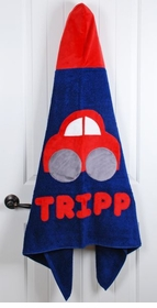 personalized cars towel