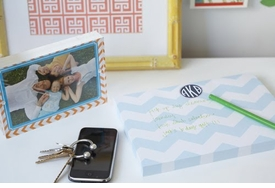 personalized desk notepad