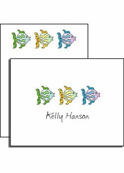 personalized everyday notes - all the fish in the sea