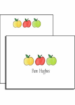 personalized everyday notes � apples to apples