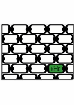 personalized everyday notes � green chainlink