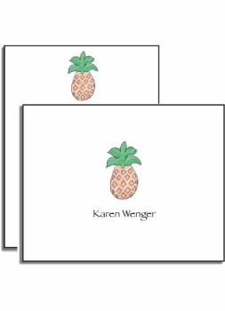 personalized everyday notes � pineapple