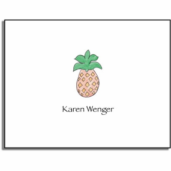 personalized everyday notes – pineapple