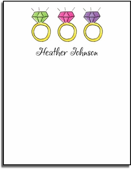 personalized everyday notes � what a jewel