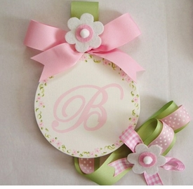 personalized hair bow holders<br><b>click for selection</b>