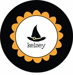 personalized halloween ~ 1p holiday plate
