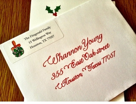 personalized holiday stationery and gifts by kelly hughes