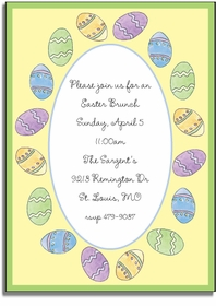 personalized invitations � egg hunt