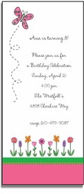 personalized invitations � garden party