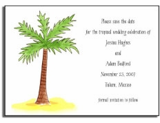 personalized invitations � palm beach