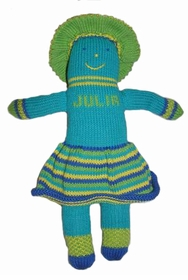 personalized knit pal - julia