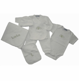 personalized layette - entire collection