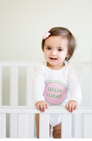 personalized little sister shirt