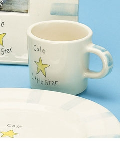 "personalized ""little star"" cup"