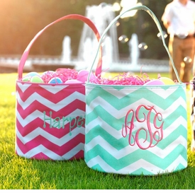 personalized monogrammed easter baskets
