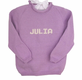 personalized name sweater