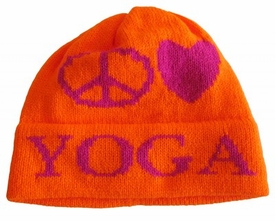 personalized peace love hat